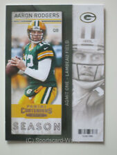 AARON RODGERS  - Panini Contenders 2013 #61 (Green Bay PACKERS) NFL Playercard
