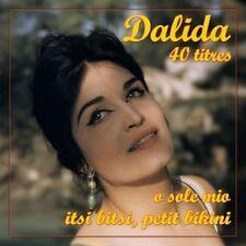 CD Dalida: 40 Remastered Tracks - 2 CD Set / IMPORT