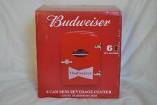 Budweiser Portable 6 Can Mini Fridge Cooler