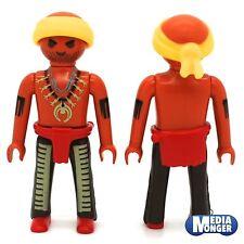 playmobil Figur: Indiani Aboriginal Pirata Corsaro con Sciarpa testa