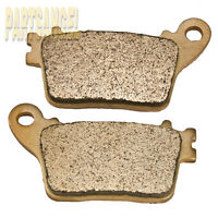 Rear Sintered Brake Pads For Honda CBR 600 CBR 1000 Suzuki GSXR 600 GSXR 1000