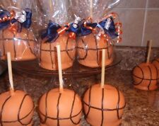 BASKETBALL CANDY CARAMEL CHOCOLATE APPLE/APPLES,FAVORS