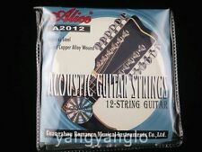 Alice A2012 12-String Acoustic Guitar Strings 1st-12th Strings Free Shipping