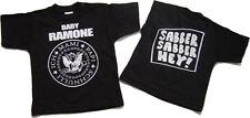 Baby Ramone Slaver Slaver Hey Baby-T-Shirt Black