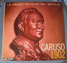 """LP 12"""" 33 rpm - """"CARUSO 1902"""" - Italy 1961"""