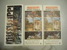 Mississippi 1975 Official Highway Map & Mississippi Hotels & Motels-1973 (2)