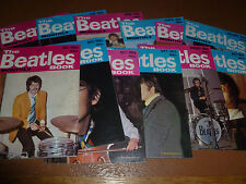 The Beatles Book Monthly Magazine 1984 Full Year Collection RARE editions 93-104
