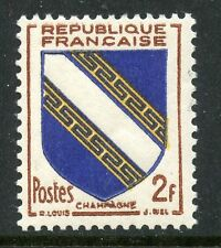 STAMP / TIMBRE FRANCE NEUF N° 953 ** ARMOIRIE / CHAMPAGNE