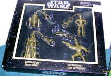 STAR WARS KEYSCHAINS SET OF 4 DIE CAST NIB 1996