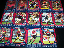 14 x Teamcoach 2012 Official AFL Melbourne / Demons Cards – Like New