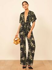 BNWT REFORMATION 'Lemongrass' jumpsuit RRP £300 US4 UK8-10
