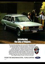 "1978 FORD TE CORTINA GHIA AD A4 CANVAS PRINT POSTER 11.7""x8.3"""