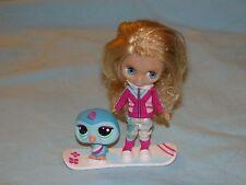 lot Figurine petshop Vacances à la neige Snow love Blythe B27 + Pingouin 2168