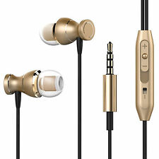 Metall Kopfhörer 3K WP1HS Gold Headset Earphone Ohrhörer Super Bass Stylish*