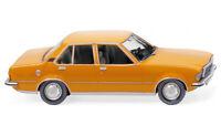#079304 - Wiking Opel Rekord D - orange - 1:87