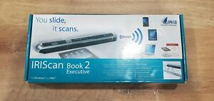 IRIScan Book 2 Executive  Portable Scanner Bluetooth Slide-n-Scan