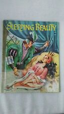 vintage childrens book Sleeping Beauty 1956