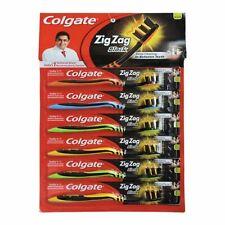 8 X Colgate Zig Zag Black SOFT Tooth Brush Toothbrush Deep Cleaning Betwn Teeth
