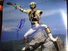 The Power Rangers Signed Jason David Frank 11x14 Autograph Photo White Ranger