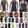 Men Sleeveless Gym Muscle Shirts Tank Tops Fitness Vest Training Sports T-Shirt