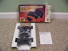 SEGA SATURN WIRELESS IR INFRARED CONTROLLER PAD RECEIVER BY DOC'S, RARE