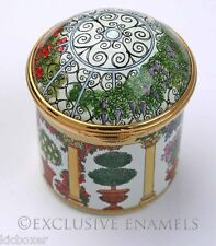Staffordshire Enamels The Gazebo Enamel  Box