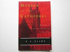 MURDER IN THE CATHEDRAL - T S ELIOT - Unread coondition