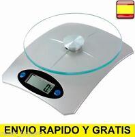 Balanza electrónica de cocina peso bascula DE 1g A 5000g 5Kg
