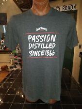 872baf2b9 Jack Daniel's Passion Distilled Since 1866 dark gray XL t-shirt, brand of  whisky