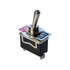 Einbauschalter Kippschalter ON/OFF Ein/Aus 250V 15A Metall 1polig Schraubversion