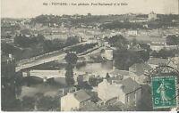 CPA- 86 - POITIERS - Vue Générale - Pont Rochereuil et le clain