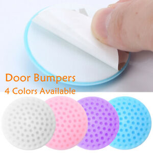 NEW 12pcs Rubber Adhesive Door Stopper Bumpers Handle Knob Guards Wall Protector