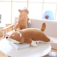 Cute Shiba Inu Dog Animal Stuffed Plush Doll Soft Toy Pillow Cushion Kid Gift