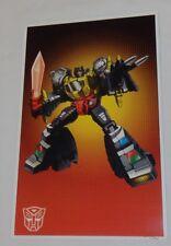G1 Transformers Autobot Dinobot Grimlock Poster 11x17 Box Art Grid Freeshipping