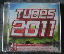 Tubes 2011 - 40 hits, magic system zaz pink ect ..., CD