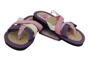 Ciabatta infradito da bambina Sundek mare piscina gomma junior moda paglia