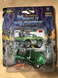 Maisto 1/64 1962 corvette Muscle Machines. unopened box!