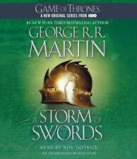 A Storm of Swords Bk. 3 by George R. R. Martin (2012, CD, Unabridged)