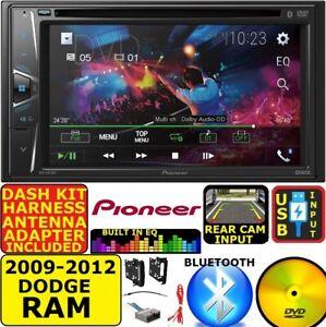 2009-2012 DODGE RAM Pioneer CD/DVD BLUETOOTH USB CAR RADIO STEREO PACKAGE
