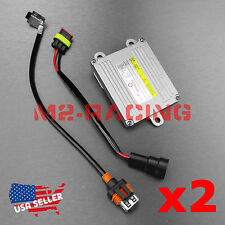 2x D1S D1R D1C HID Ballast OEM Replacement Stock Xenon Light with AMP Cable