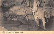 BR55621 La salle des Draperies Grottes de Han belgium