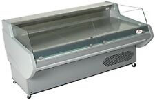 Lowe B2 Self Serve Refrigerated Display Counter - Low Glass Deli Case - Low Boy