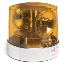 GROTE 76223 - Two Sealed-Beam Roto-Beacon, Yellow