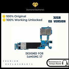 🔝 Scheda Madre Logica Motherboard Mainboard Genuine Unlocked Samsung Galaxy S7