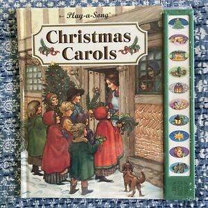 Christmas Carols Play-a-Song Music Book by Publications International 1994
