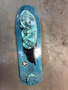 Used Welcome Chris Miller Gaia 9.6 Skateboard Deck