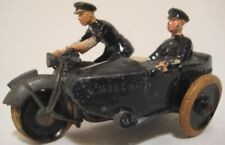 Antique Metal Toy Motorcycle J Hill Co England 3 1/2""