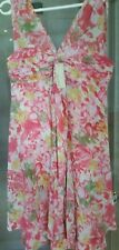 DIANA FERRARI LADIES BELLA ROSE DRESS SIZE 14 BRAND NEW RRP $189.95 FREE POSTAGE