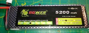 1 battery 11.1V 5000mAh 30C 3S  Lipo Battery XT60 Plug for RC Drone Car Boat