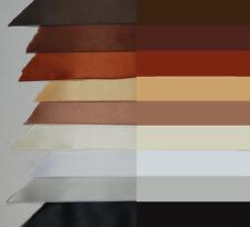 "3 yd 1.5"" SATIN ribbon white black ivory gold bronze copper brown silver-gray"